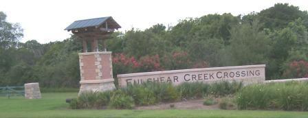 Fulshear Creek Crossing sign