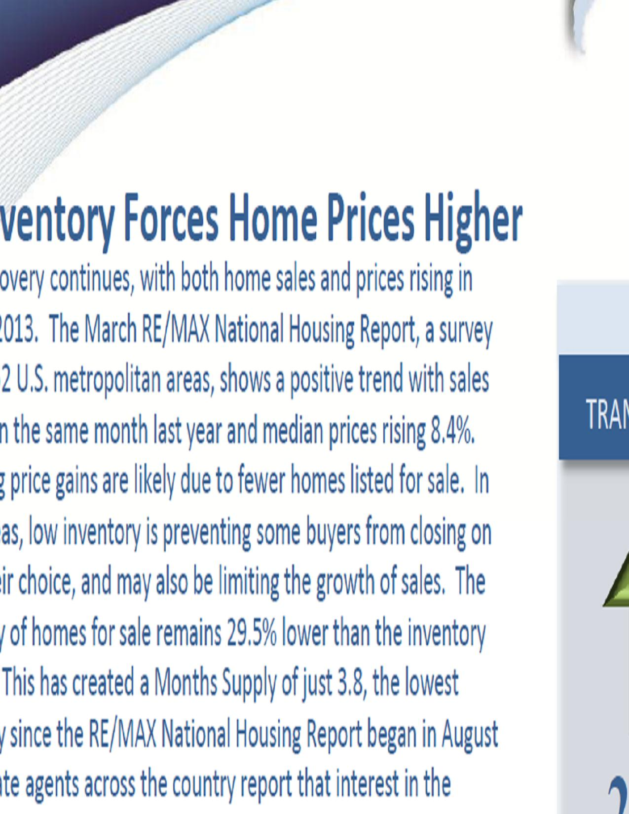 National Housing April 2013
