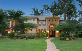 Custom Homes The Woodlands - Big beautiful home