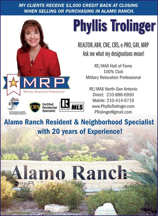 Alamo Ranch Phyllis Trolinger