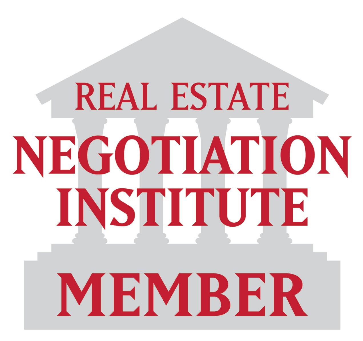 Real Estate Neogiation Institute Member